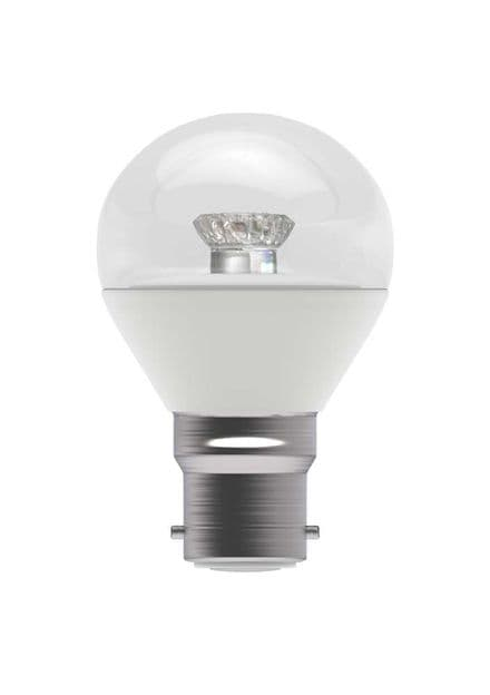BELL 05708 4W LED Round Clear BC 2700K
